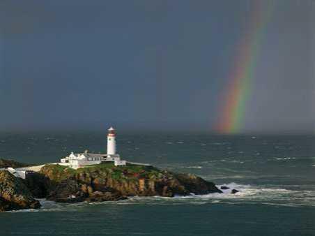 Rainbow over Fanad-Head Ireland