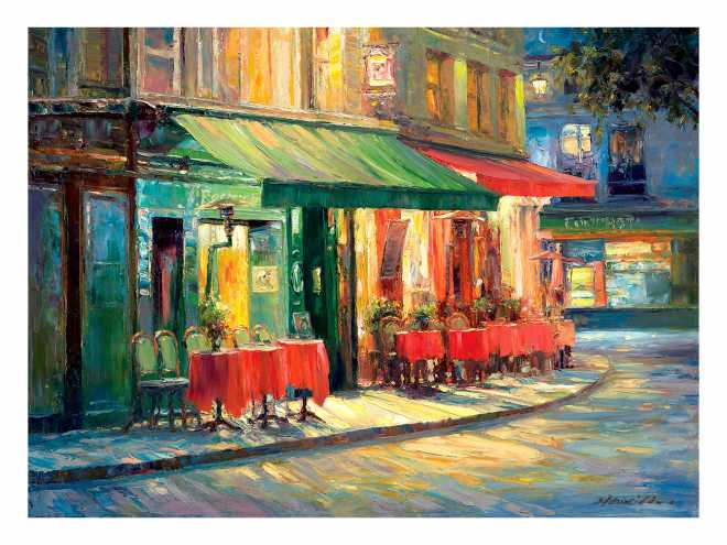 Red and Green Cafe