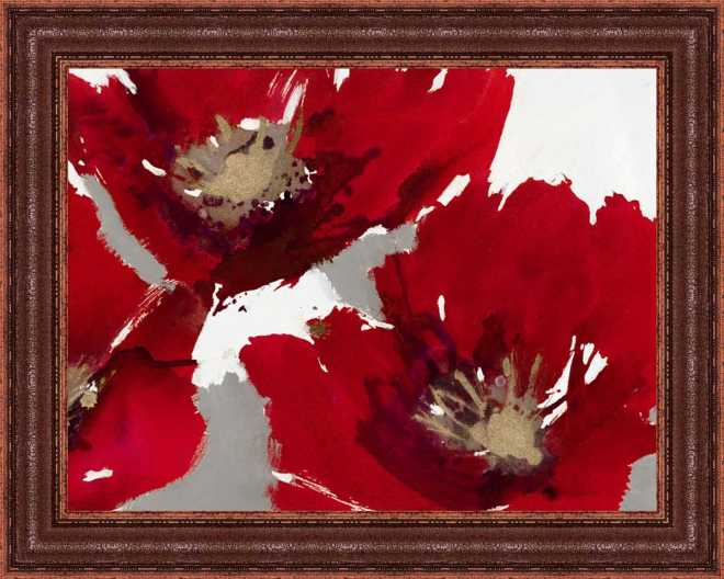 Red Poppy Forest II