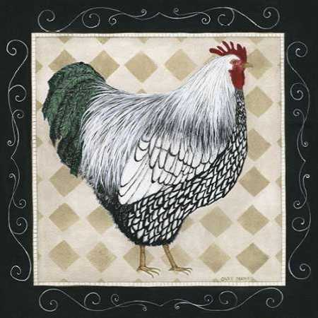 Rooster and Hen I