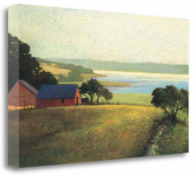 Salt Water Farm, 48x32, Gallery Wrap Canvas, CAWSP215-4832c, SP0141, N