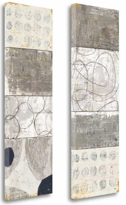Scorched Earth I & II by Michael Mullan Gallery Wrap Canvas'