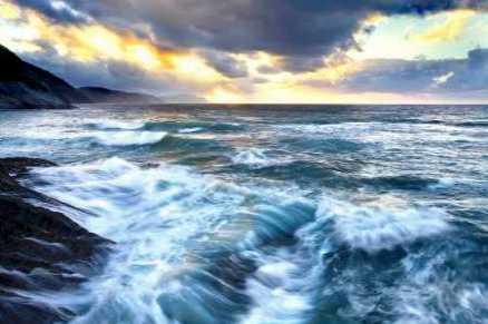 Sea twilight 839