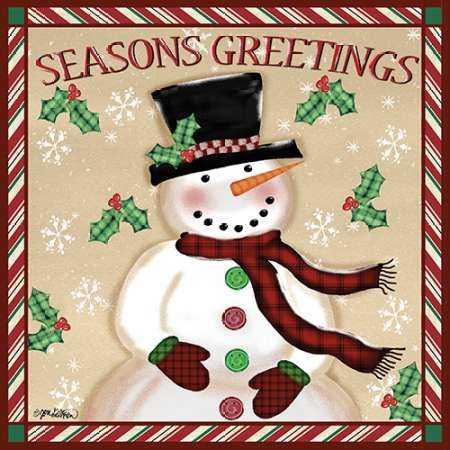Season''s Greetings Snowmen I