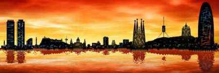 Skyline Barcelona 01