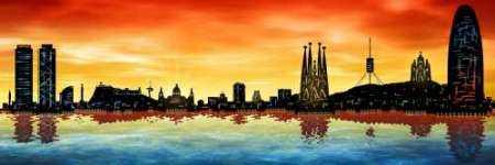Skyline Barcelona 03