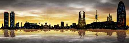 Skyline Barcelona 05