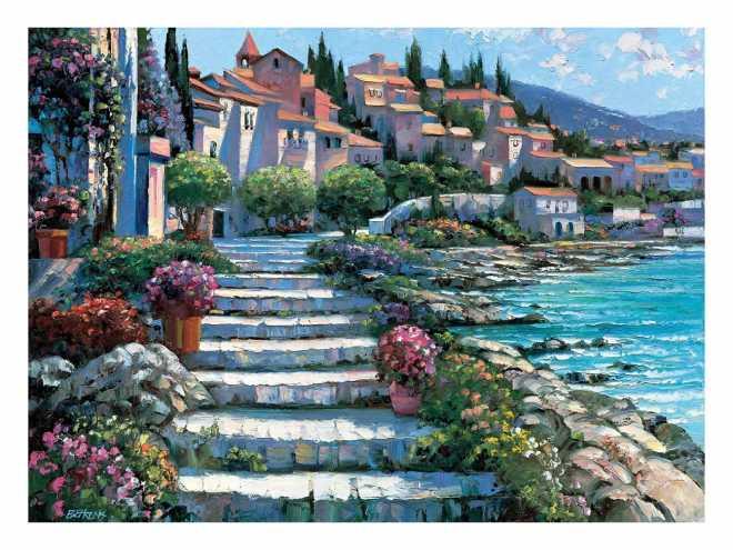 Steps of St. Tropez