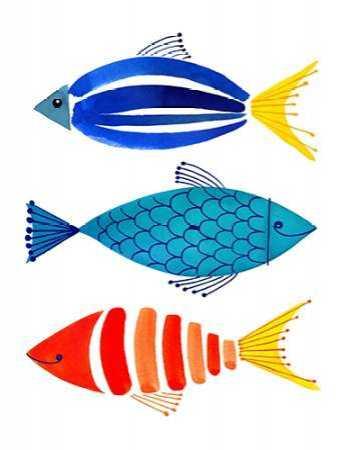 Summer Fish Trio