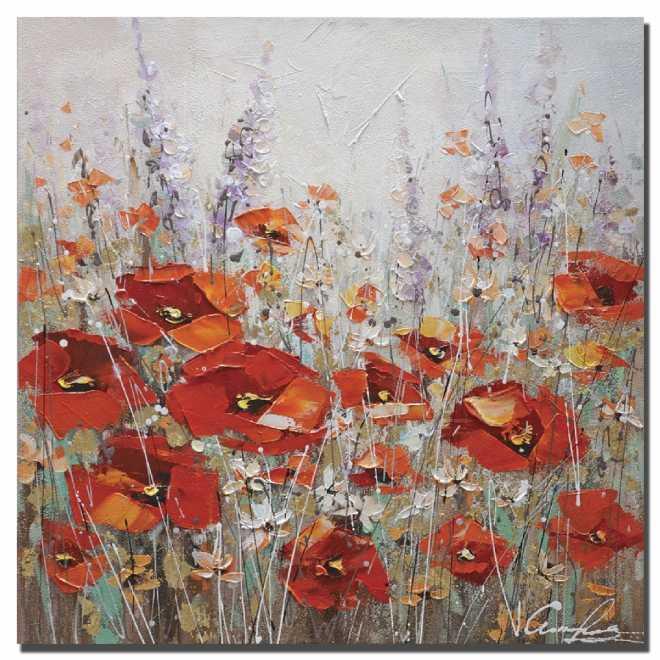 Summer Poppies I