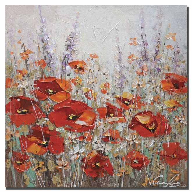 Summer Poppies I S