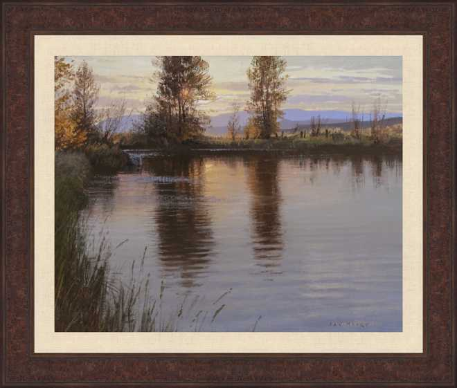 Sunset Reflections I