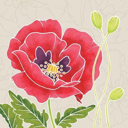 Sunshine Poppies IV