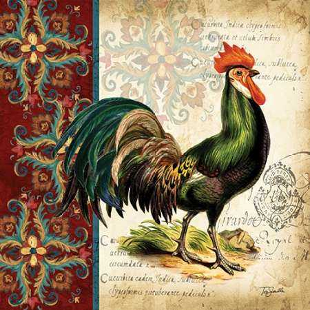 Suzani Rooster I