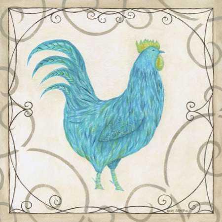 Teal Rooster I
