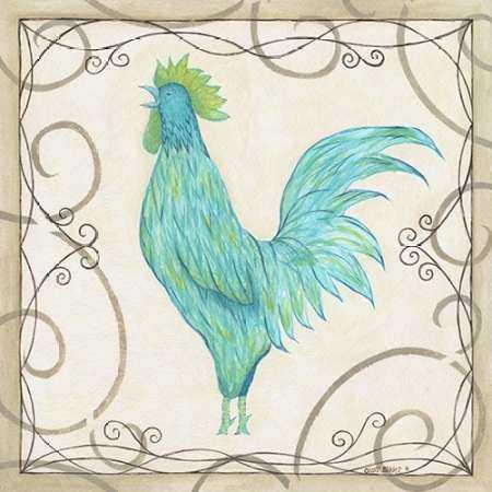 Teal Rooster II