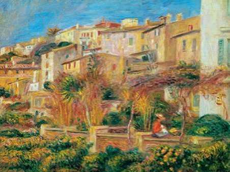 Terrace a Cagnes sur Mer