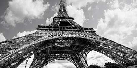 The Eiffel Tower in spring