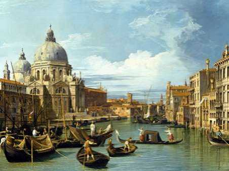 The Entrance to the Grand Canal Venice