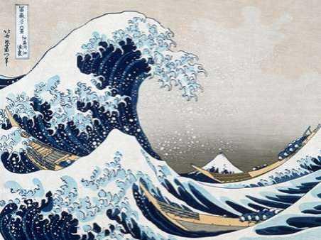 The Wave off Kanagawa