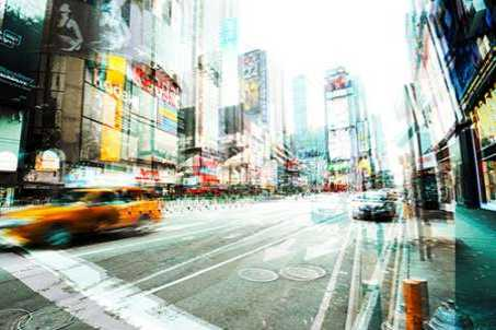 Times Square Multiexposure II