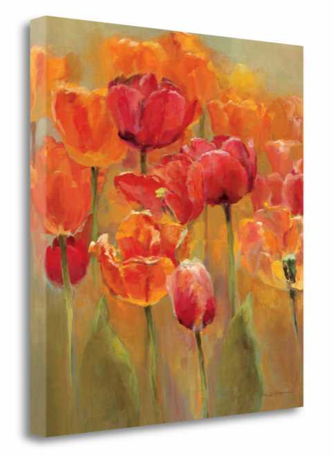 Tulips in the Midst - Gallery Wrap Canvas - WA606816-2632c - K