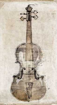 Violin Study-Front