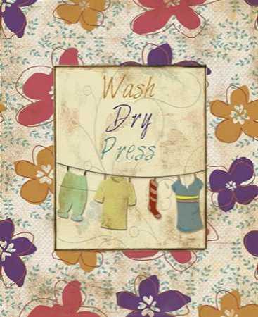 WASH DRY PRESS