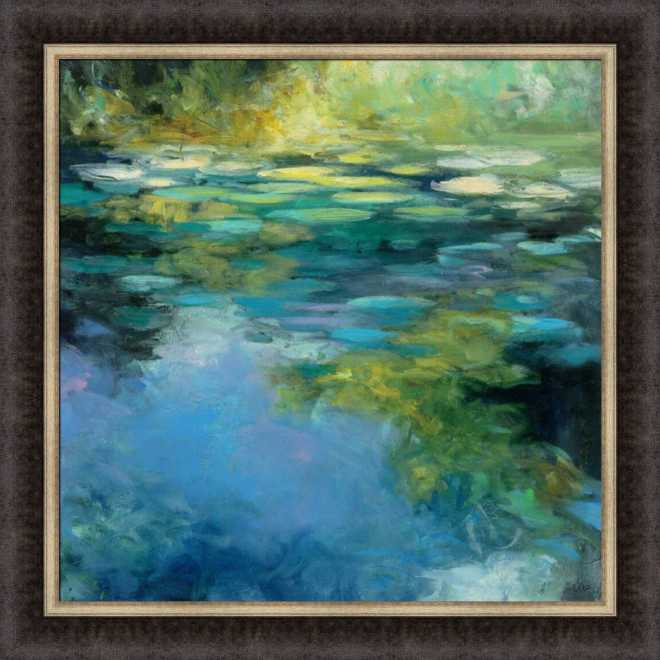 Water Lilies III by Julia Purinton
