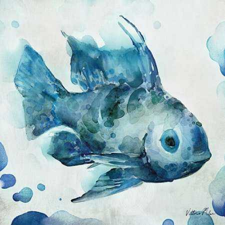 Watercolor Sea Creatures I