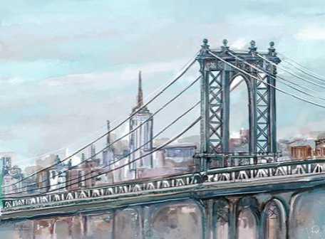 Watercolour Sketch Book New York
