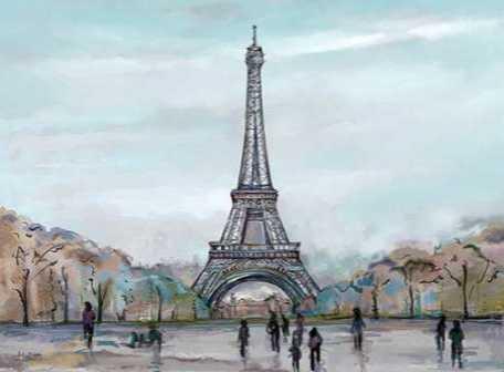 Watercolour Sketch Book Paris