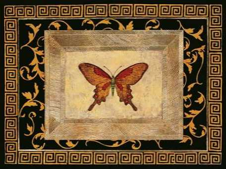 Winged Ornament I