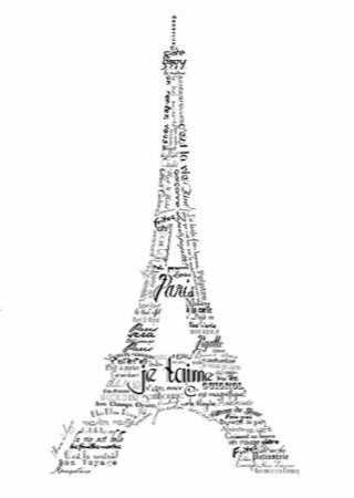 As The French Say-Eiffel Tower
