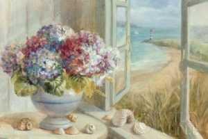 Coastal Hydrangea by Danhui Nai Internet Only Special