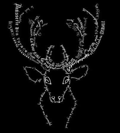French Stag Black