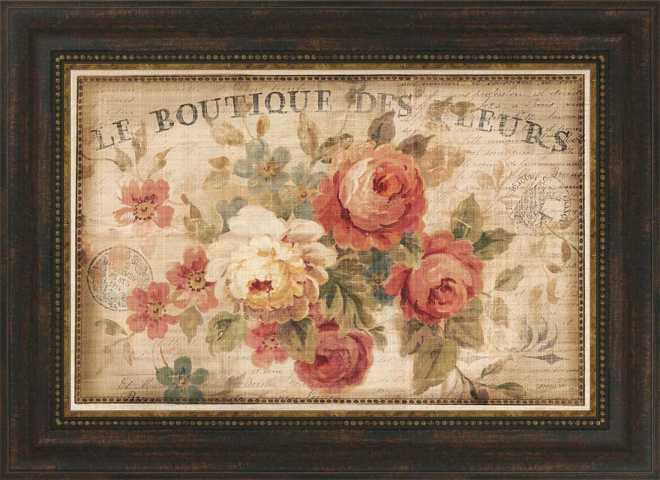 Parisian Flowers III