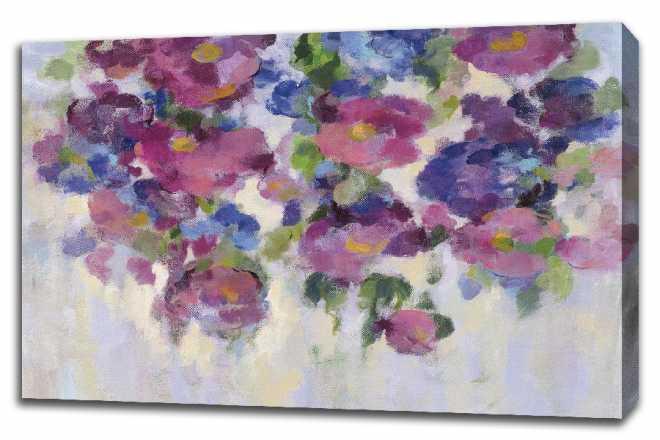 Pink and Blue I by Silvia Vassileva